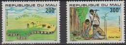 Mali 1979 N° 344-345 MNH Sahel Vert (D11) - Mali (1959-...)