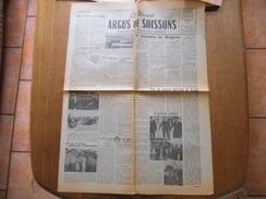 LE NOUVEL ARGUS DE SOISSONS 25 AOUT 1954 FÊTE DU COMICE AGRICOLE DE VAILLY