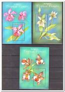 Liberia 2001, Postfris MNH, Flowers, Orchids - Liberia