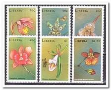 Liberia 1999, Postfris MNH, Flowers, Orchids - Liberia
