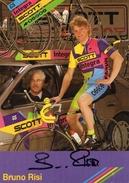 Cyclisme  Bruno Risi  Signé - Radsport