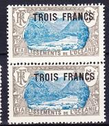 ETABLISSEMENT DE L'OCEANIE 1926-27 YT N° 66 ** - Nuevos