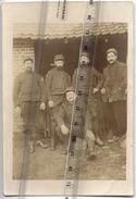 60 - BOURMONT  - CARTE PHOTO  -  Militaires - Voir Texte Au Dos - 1915 - Regimente