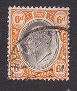 Transvaal, Scott #274, Used, Edward VII, Issued 1902