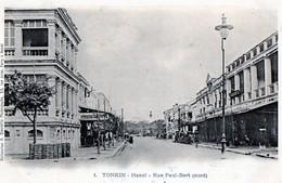 TONKIN - Hanoï - Rue Paul-Bert (nord) - Viêt-Nam