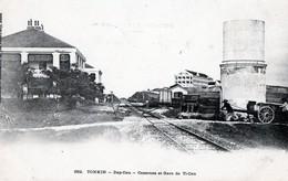 TONKIN - Dap-Cau - Caserne Et Gare De Ti-Cau - Viêt-Nam