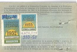 ASSOCIATION TOURISTIQUE DES CHEMINOTS  -CARTE DE PLEIN AIR - N°05739- - Mapas