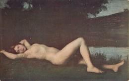 NAÏADE NAIAD HENNER PEINTRE ART FEMME NUE  EROTISME NAKED WOMAN EROTICISM - Vintage Romance < 1960