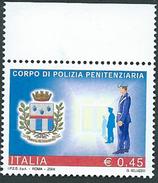 Italia, Italy 2004; Corpo Di Polizia Penitenziaria , Di Bordo Superiore - Militaria