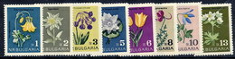 BULGARIA 1963 Flowers MNH / **.  Michel 1407-14 - Bulgaria