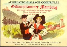 487 - France - Gewurztraminer Mamburg - Société Coopérative Vinicole De Sigolsheim Et Environs - Gewurztraminer