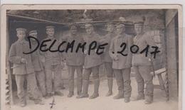 02 AISNE TERNY SORNY  CARTE PHOTO ALLEMANDE MILITARIA 1914 1918 - Autres Communes