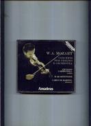X COFANETTO 2 CD MOZART CONCERTI PER VIOLINO E ORCHESTRA CARMIGNOLA AMADEUS - Classica