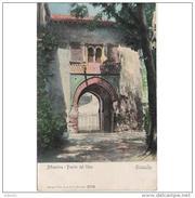 GNDTP6425CPA-LFTM5234TAROT.Tarjeta Postal DE GRANADA.Edificios. Arboles Y Calles.LA PUERTA DEL VINO En  LA ALHAMBRA - Otros