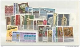 1976 MNH Cyprus, Year Complete, Postfris - Zypern (Republik)