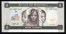 Eritrea 1997, 1 Nakfa - UNC - AP 1861043 - Erythrée