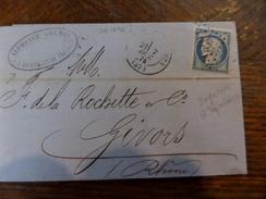 Lot De Variétés Ou GC A Voir Sur N°60,grands-lemps De Bonpertuis Et Dependances.GC 1636 - Storia Postale