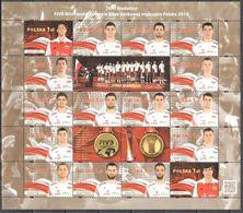 Poland 2014 - Winner Of The FIVB Volleyball Men's World Championships - Mi.4725-40 - MNH(**) - Blocks & Kleinbögen