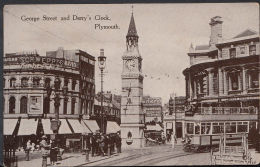 Devon Postcard - George Street & Derry's Clock, Plymouth   RS1710 - Unclassified