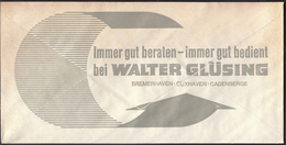Germany Bremerhaven 1975 / Lighthouse / Sailing Ship / Walter Glüsing / Machine Stamp - Lighthouses