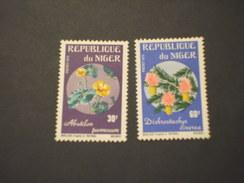 NIGER - 1973 FIORI  4 - NUOVI(++) - Niger (1960-...)