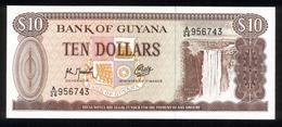 Guyana 1966-1992, 10 Dollar - UNC - Guyana