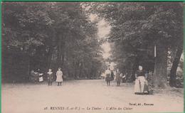 35 - Rennes - Le Thabor - L'allée Des Chênes - Editeur: Sorel N°28 - Rennes