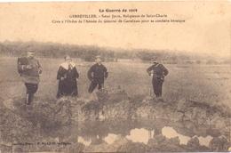 Cp Gerbéviller - Soeur Julie La Guerre De 1914 L'Armée Du General De Castelnau - Gerbeviller