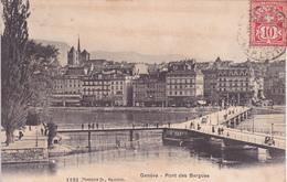 GENEVE Pont Des Bergues - GE Geneva
