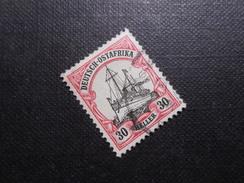D.R.Mi 27- 30H  Deutsche Kolonien ( DEUTSCH-OSTAFRIKA ) 1905/19 - Mi € 7,50 - Colony: German East Africa