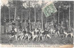 Forêt D'ANDAINES -- 1000éme Cerf Du Marquis De Cornulier - La Curée - France