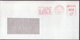Germany Wilhelmshaven 1975 / Krupp - Ardelt / Cranes / Machine Stamp - Fábricas Y Industrias