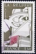 2131 La RELIURE OBLITERE ANNEE 1981 - Frankreich