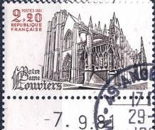 2161    NOTRE DAME DE LOUVIERS   OBLITERE ANNEE 1981 - Frankreich