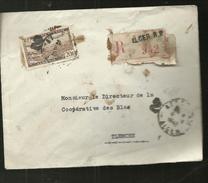 ENVELOPPE     RECOMMANDE  942      ALGER R.P.  1948 ENVOYER A TLEMCEN - Algeria (1962-...)