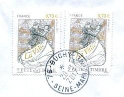 France 2017 - Fête Du Timbre - Oblitération Buchy (76) Du 20-3-2017