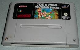 Retro Gaming Retrogaming Cartouche Jeu JOE & MAC CAVEMAN NINJA Super Nintendo NES - Autres