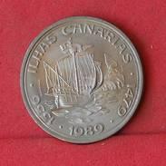 PORTUGAL 100 ESCUDOS 1989 -    KM# 646 - (Nº10178) - Portugal