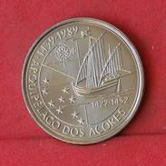 PORTUGAL 100 ESCUDOS 1989 -    KM# 648 - (Nº10179) - Portugal