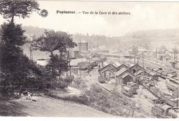 PEPINSTER 1922 Panorama Vue De La Gare Et Des Ateliers Station Locomotief