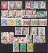 SUDAN 1956-67 12 Serie Differenti Tra I N/n116 E 197 + B-F. N°1   MNH** - Sudan (1954-...)