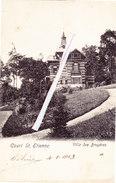 COURT SAINT ETIENNE - Villa Des Bruyères - Superbe Carte Circulée En 1908 - Court-Saint-Etienne