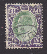 Transvaal, Scott #280, Used, Edward VII, Issued 1902