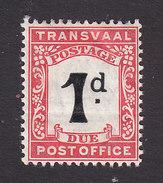 Transvaal, Scott #J2, Mint Hinged, Postage Due, Issued 1907 - Transvaal (1870-1909)