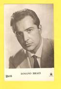 Postcard - Film, Actor, Rosano Braci     (V 31007) - Schauspieler