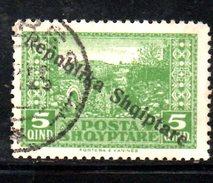 XP2196 - ALBANIA 1925 , Michel N. 118  Usato - Albania