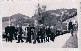 Vallée De Joux, Le Pont, Enterrement D'une Personnalité, Les Honneurs (70) - VD Vaud