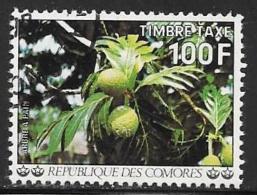 Comoro Islands, Scott # J15 Used Breadfruit, 1977 - Comoros