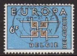 Belgium SG1863 1963 Europa 6f Good/fine Used [5/5934/6D] - Belgium