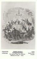 Literature Postcard - Charles Dickens - The Beginning Of Fame   U527 - Célébrités